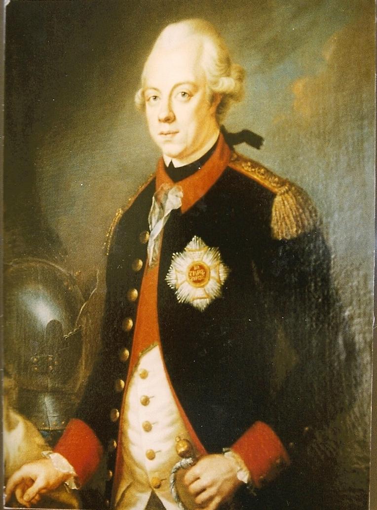 Carl August Graf von Heideck, später Reichsgraf und Reichsfürst von Bretzenheim